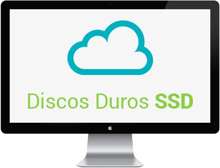 Hosting gratis discos duros ssd