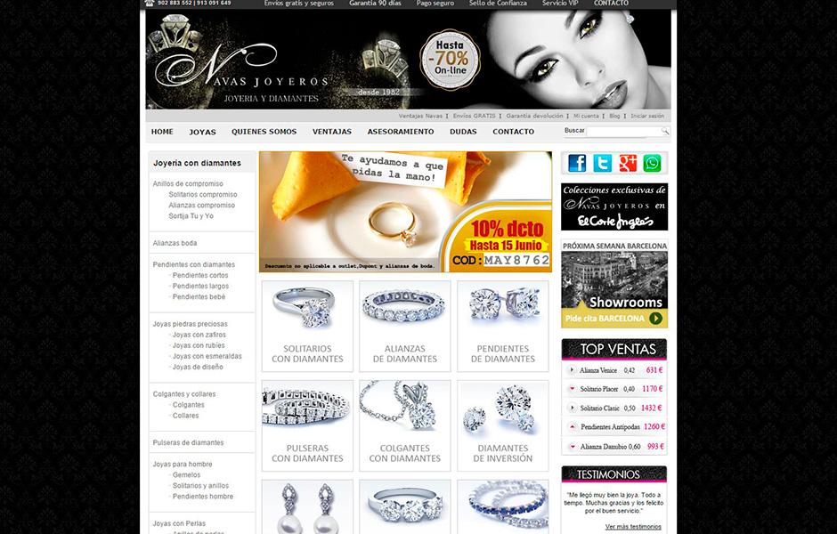 Joyería y diamantes