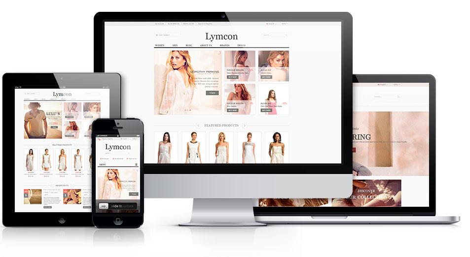 Diseño página web tienda online prestashop